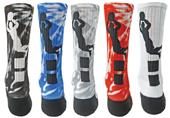 Red Lion Alley Oop Basketball Sublimated Crew Sock