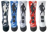 Red Lion Point Basketball Sublimated Crew Socks
