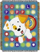 Northwest Puppy Pop Woven Tapestry Throw