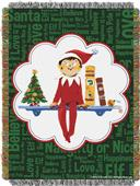 Northwest Elf on the Shelf Woven Tapestry Throw