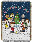 Northwest Peanuts Woven Tapestry Throw