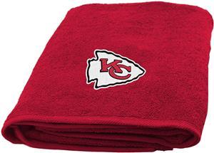 Northwest NFL Kansas City Appliqué Bath Towel
