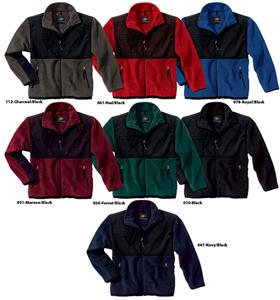 Evolux Unlined Fleece Jackets Adult &amp; Youth