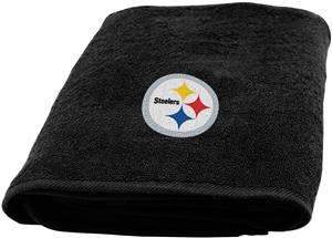 Northwest NFL Pittsburgh Appliqué Bath Towel