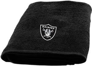 Northwest NFL Oakland Raiders Appliqué Bath Towel