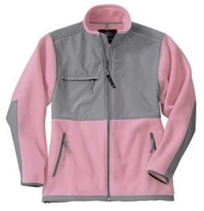 Charles River Pink Evolux Unlined Fleece Jackets
