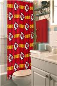 Northwest NFL Kansas City Chiefs Shower Curtain