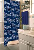 Northwest NFL Tennessee Titans Shower Curtain