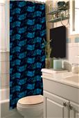 Northwest NFL Carolina Panthers Shower Curtain