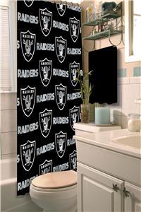 Northwest NFL Oakland Raiders Shower Curtain