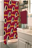 Northwest NFL Washington Redskins Shower Curtain