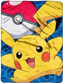 Northwest Pokemon Go Pikachu Micro Raschel Throw