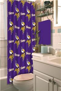Northwest NFL Minnesota Vikings Shower Curtain