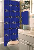 Northwest NFL Baltimore Ravens Shower Curtain