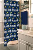 Northwest NFL San Diego Chargers Shower Curtain