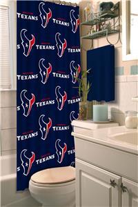 Northwest NFL Houston Texans Shower Curtain