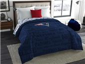 Northwest NFL New England Anthem Full Comforter