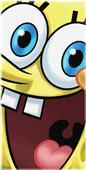Northwest SpongeBob Big Smile Bob Beach Towel