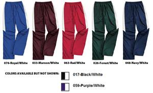 "Womens TeamPro Pant Water-Resistant 12"" Zipper Hem"