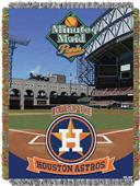 Northwest MLB Minutemaid Park Tapestry Throw