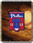 Northwest MLB Phillies Vintage Tapestry Throw