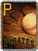 Northwest MLB Pirates Vintage Tapestry Throw