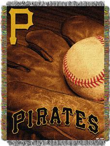 Northwest MLB Pirates Vintage Tapestry Throw