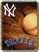 Northwest MLB Yankees Vintage Tapestry Throw