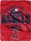 Northwest MLB Angels Structure Raschel Throw