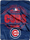 Northwest MLB Cubs Structure Raschel Throw