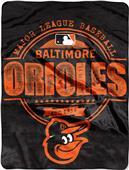 Northwest MLB Orioles Structure Raschel Throw