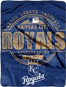 Northwest MLB Royals Structure Raschel Throw