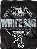 Northwest MLB White Sox Structure Raschel Throw