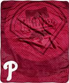 Northwest MLB Phillies Retro Raschel Throw