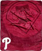 Northwest MLB Phillies Retro Raschel Throw