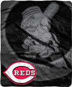 Northwest MLB Reds Retro Raschel Throw