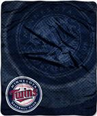 Northwest MLB Twins Retro Raschel Throw