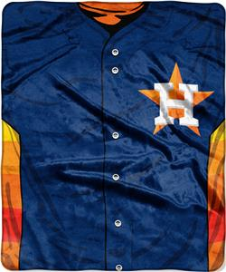 Northwest MLB Astros Jersey Raschel Throw