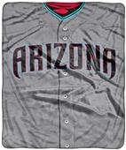 Northwest MLB Diamondbacks Jersey Raschel Throw