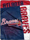 Northwest MLB Braves Strike Raschel Throw