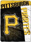 Northwest MLB Pirates Strike Raschel Throw