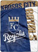 Northwest MLB Royals Strike Raschel Throw