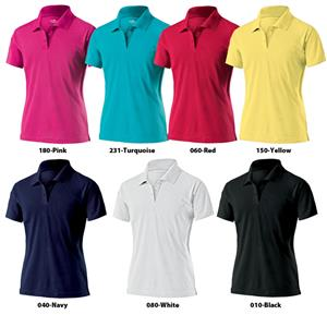 Womens Signature Pique Polo Shirts
