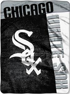 Northwest MLB White Sox Strike Raschel Throw