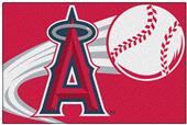 Northwest MLB Angels Small Tufted Rug