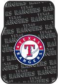 Northwest MLB Rangers Car Floor Mat Set