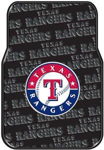 Northwest MLB Rangers Car Floor Mat Set
