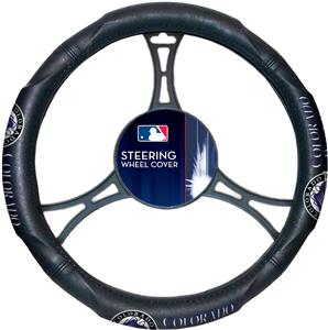 Northwest MLB Rockies Steering Wheel Cover