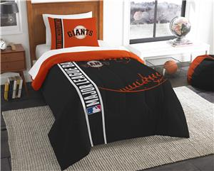Northwest MLB Giants Soft/Cozy Twin Comforter Set