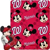 MLB Nationals Disney Mickey Hugger & Fleece Throw